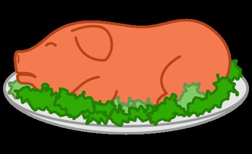 pig roast clipart cliparts co Pig Cooking Clip Art Pig Clip Art