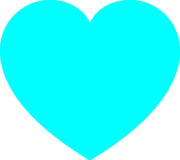 Blue Heart clip art - vector clip art online, royalty free ...