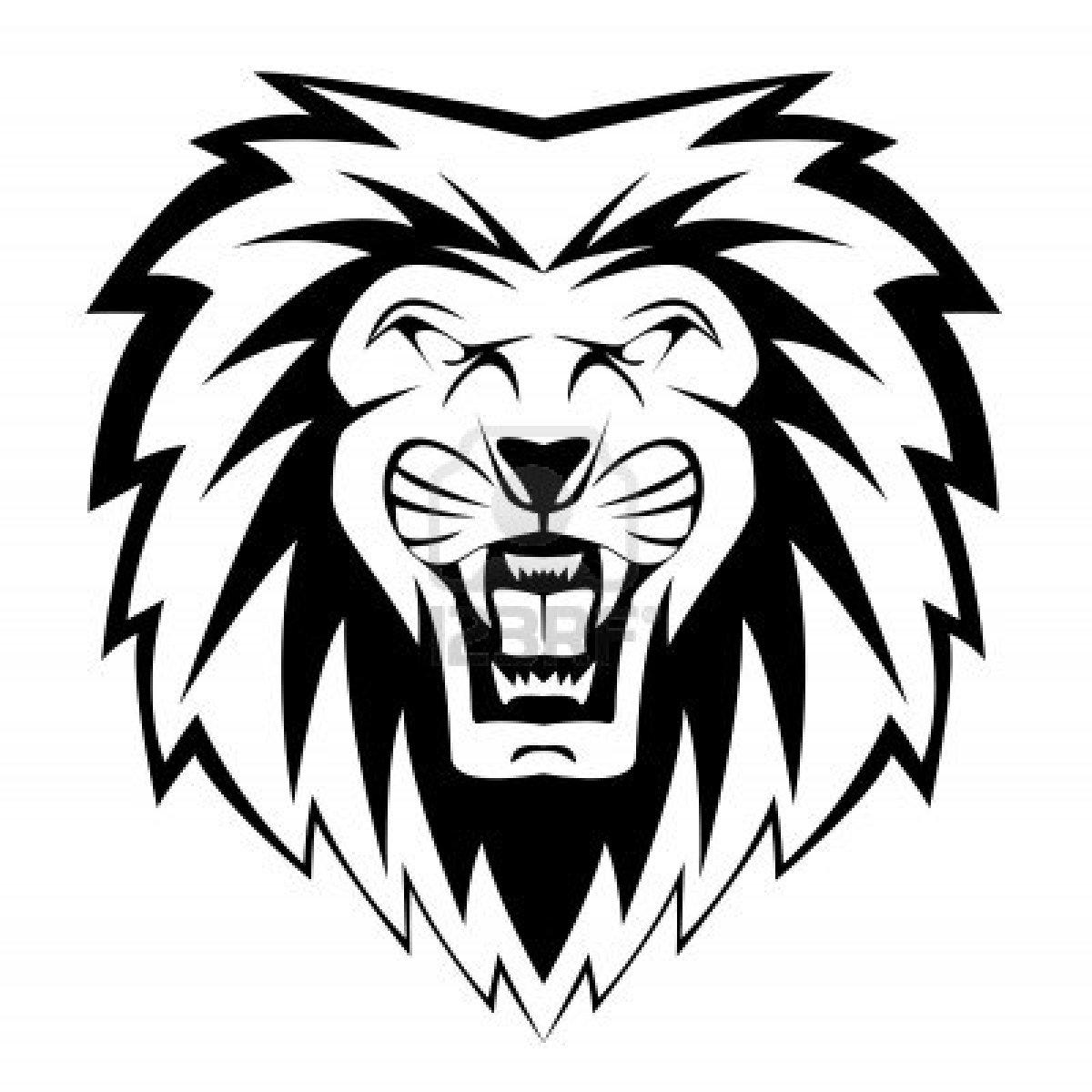 Cartoon Lion Head Clipartsco