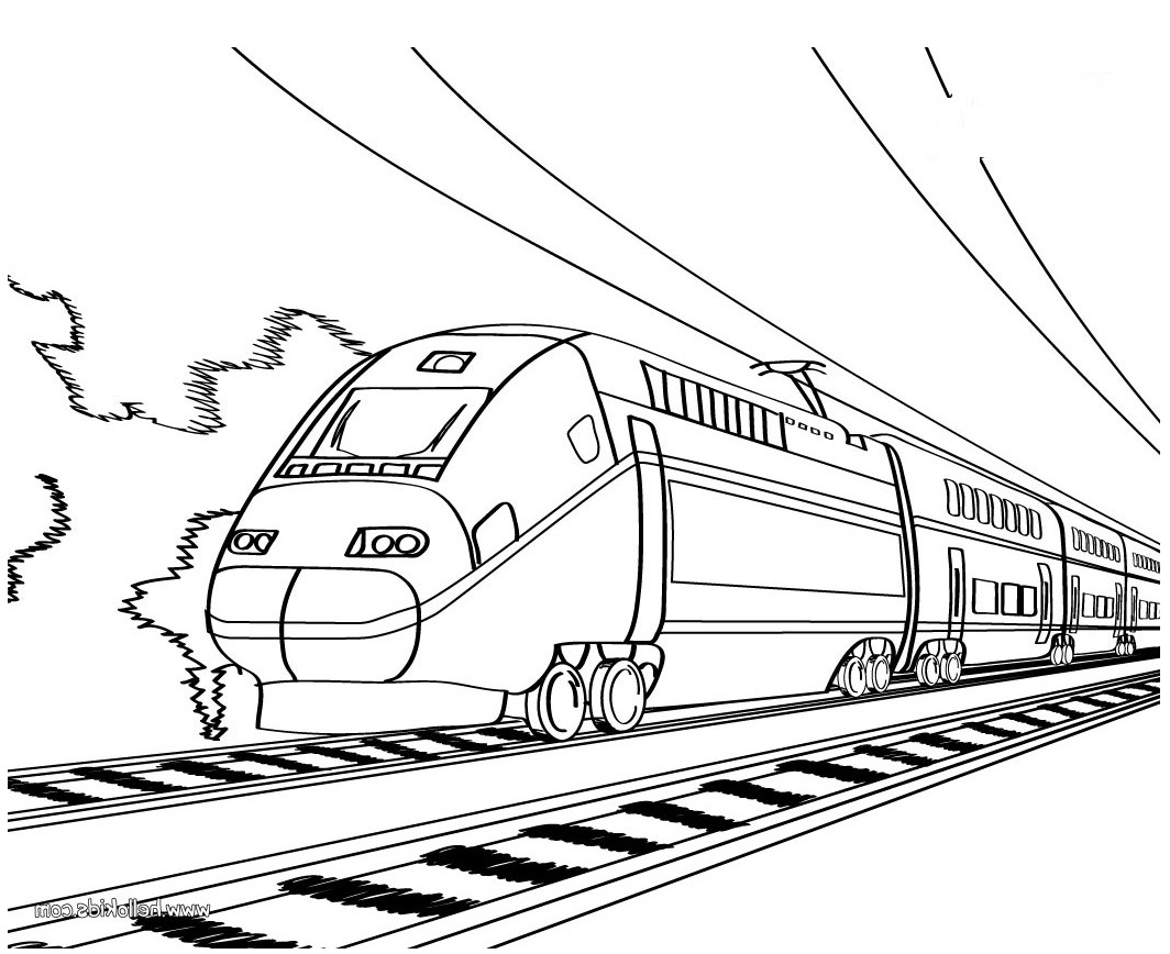 Line Drawing Train : Train outline cliparts