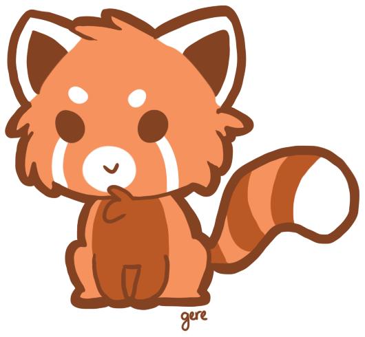 Red Panda Drawing   Clipart Panda - Free Clipart ImagesRed Panda Drawing Furry