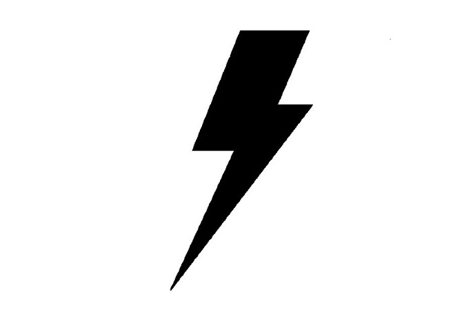 Graphic Lightning Bolt - Cliparts.co