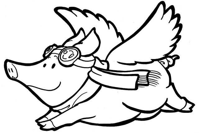 Cartoon Flying Pigs - ClipArt Best