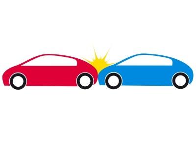 Cartoon Crashing Cars Png