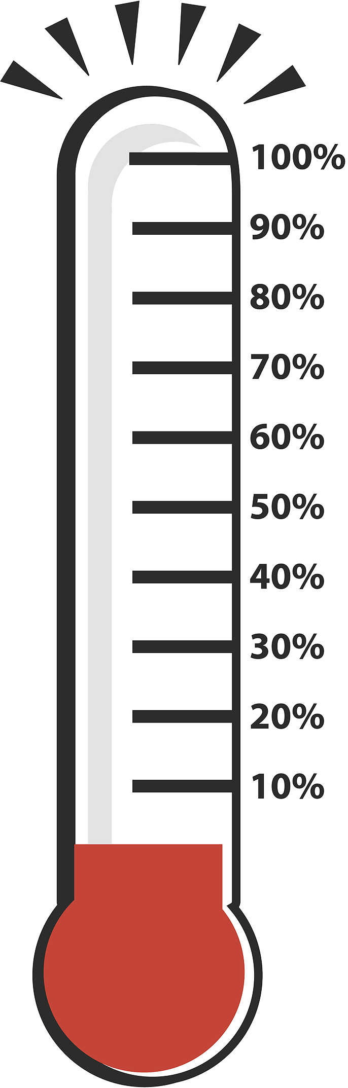 Blank Thermometer Clip Art