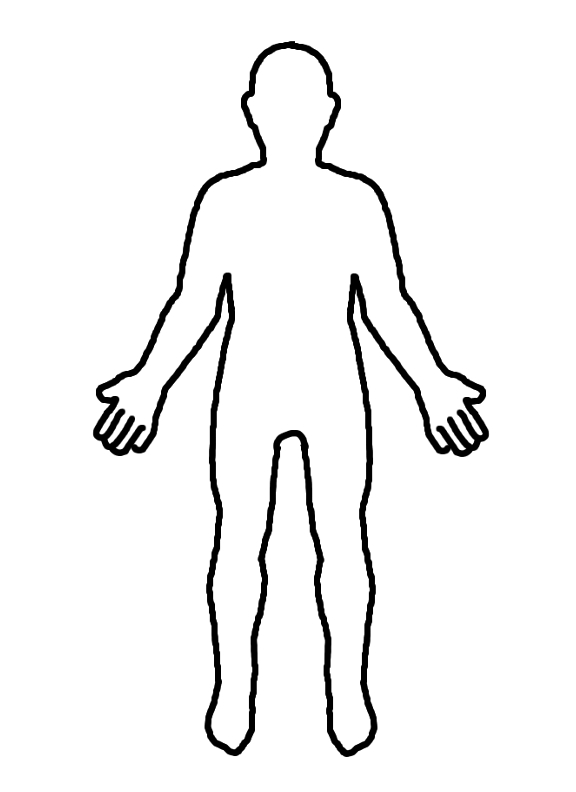 Blank Human Body Pictures