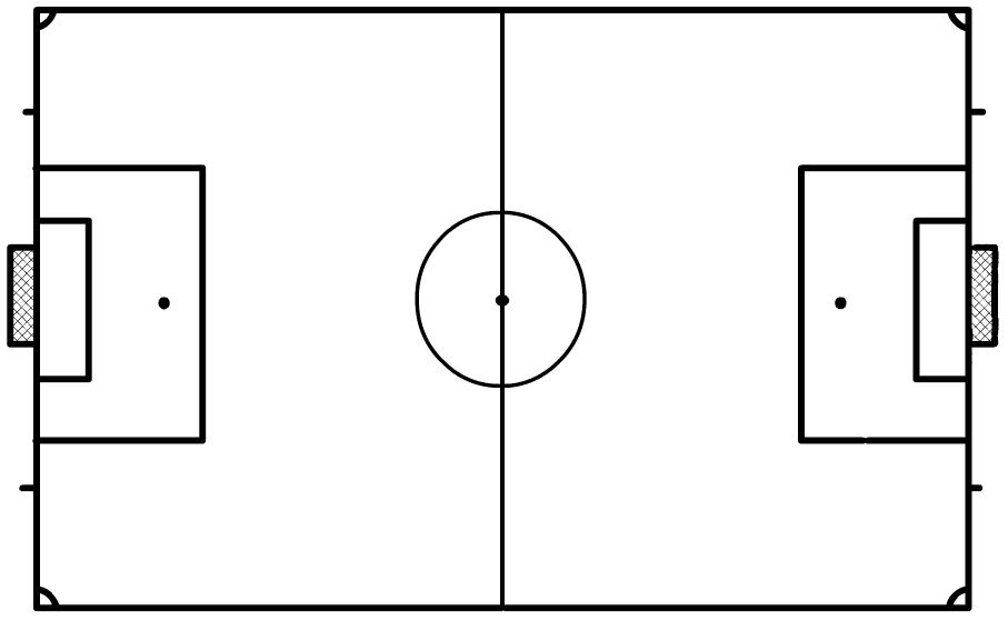 printable soccer field diagram   cliparts cocoaches page