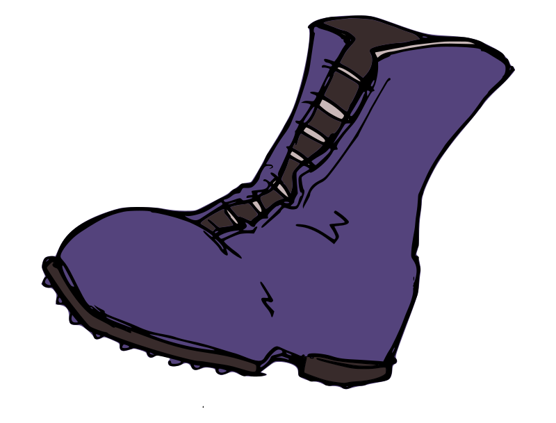 Boot Print Clip Art - Cliparts.co