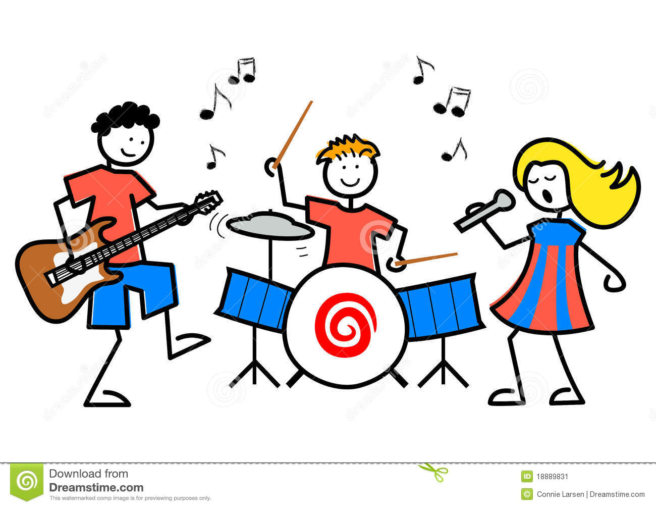 music cartoon musical clipart cliparts thank