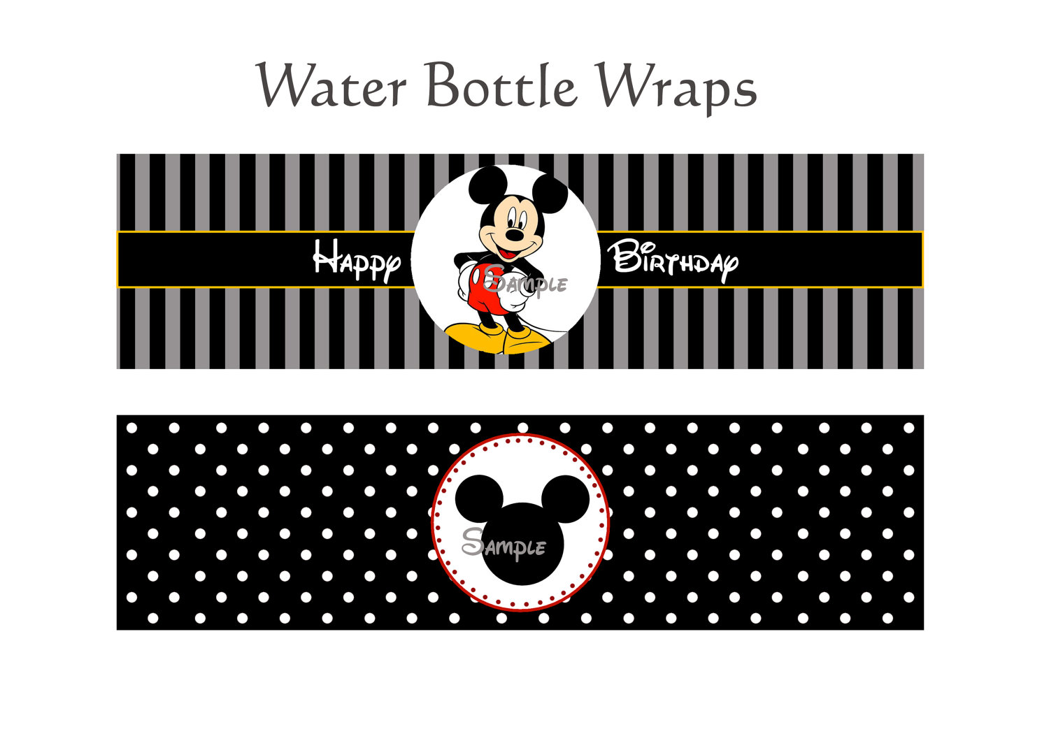 Mickey Mouse Printables - Cliparts.co