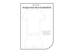Free printable football jersey template for Website where you can design your own shirt
