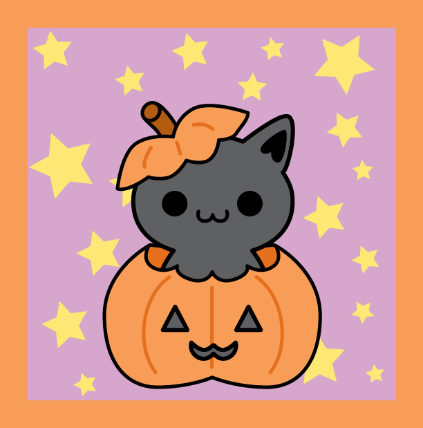 Cute Hello Kitty Halloween Backgrounds - Cliparts.co