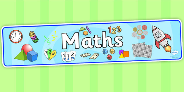Maths Area Primary Resources, maths is fun, signs - Page 2