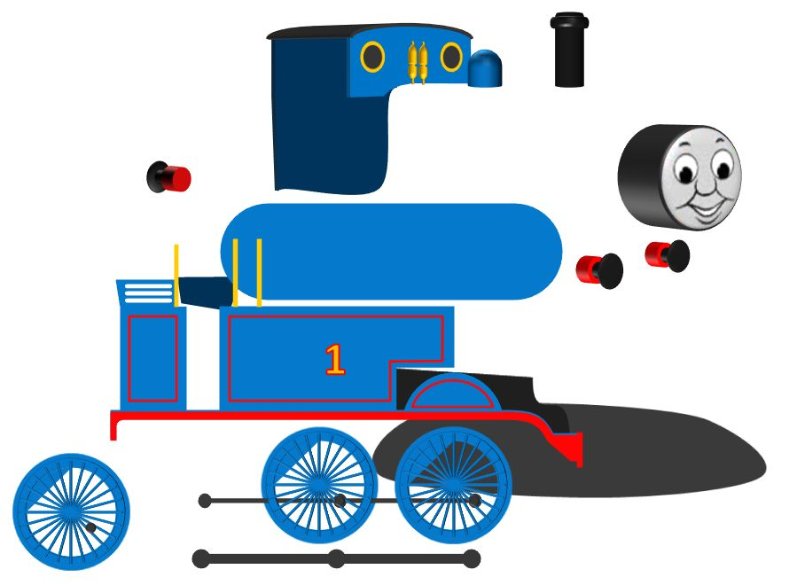 clip art thomas train - photo #23