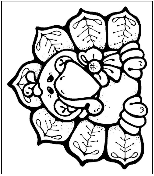 cute thanksgiving turkey coloring pages - photo#6