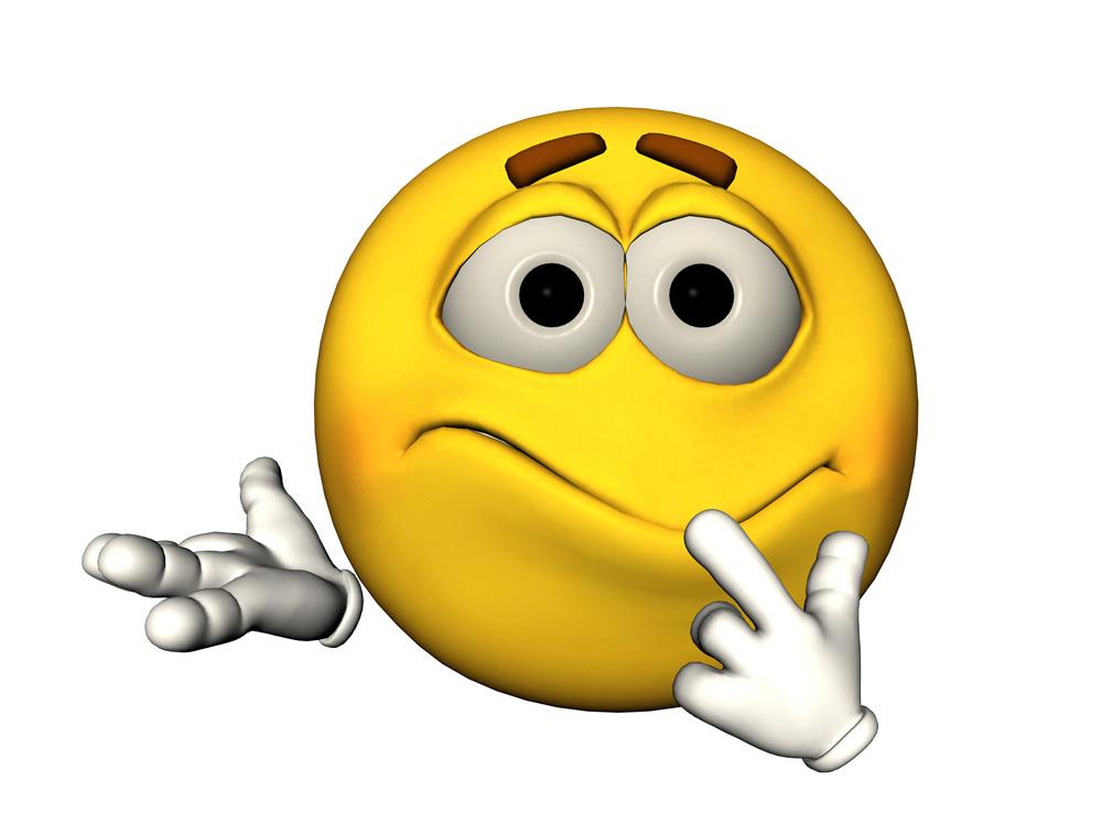 Confused Emoticon Face - Cliparts.co