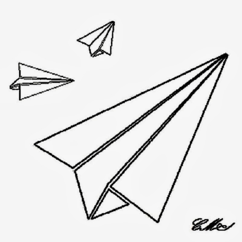 Line Drawing Jet : Airplane line art cliparts