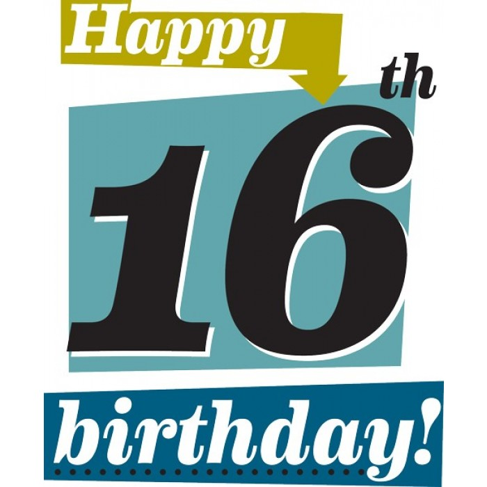 16th Birthday Images