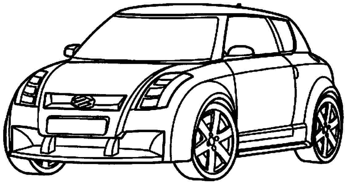 Transportation Coloring Pages Car : Coloring sheets free transportation cars for kids