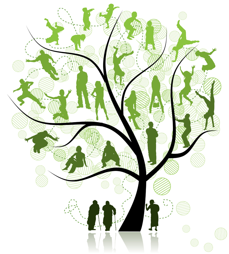 Family Reunion Tree Clip Art - Cliparts.co