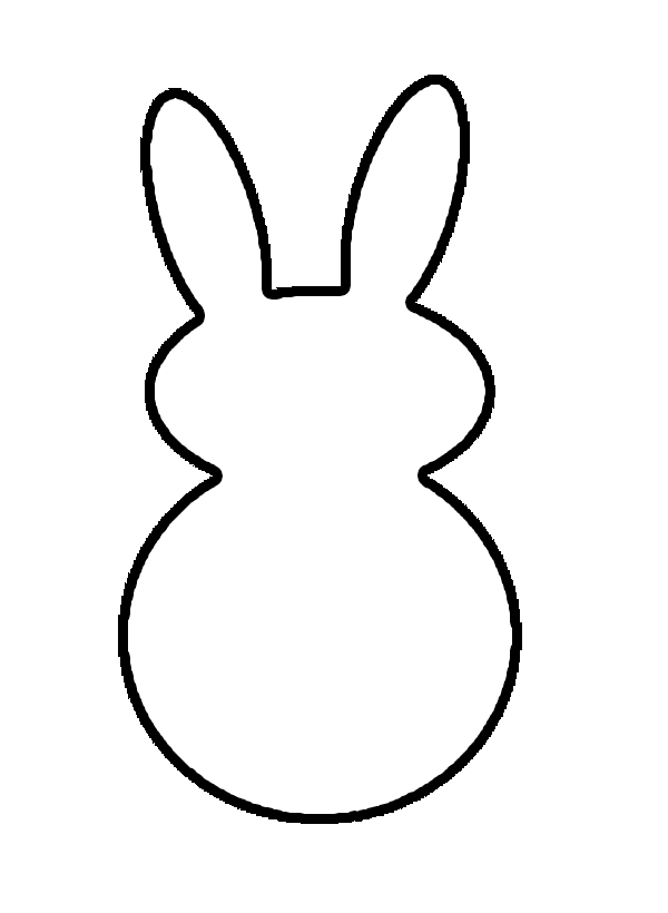 Bunny Face Outline