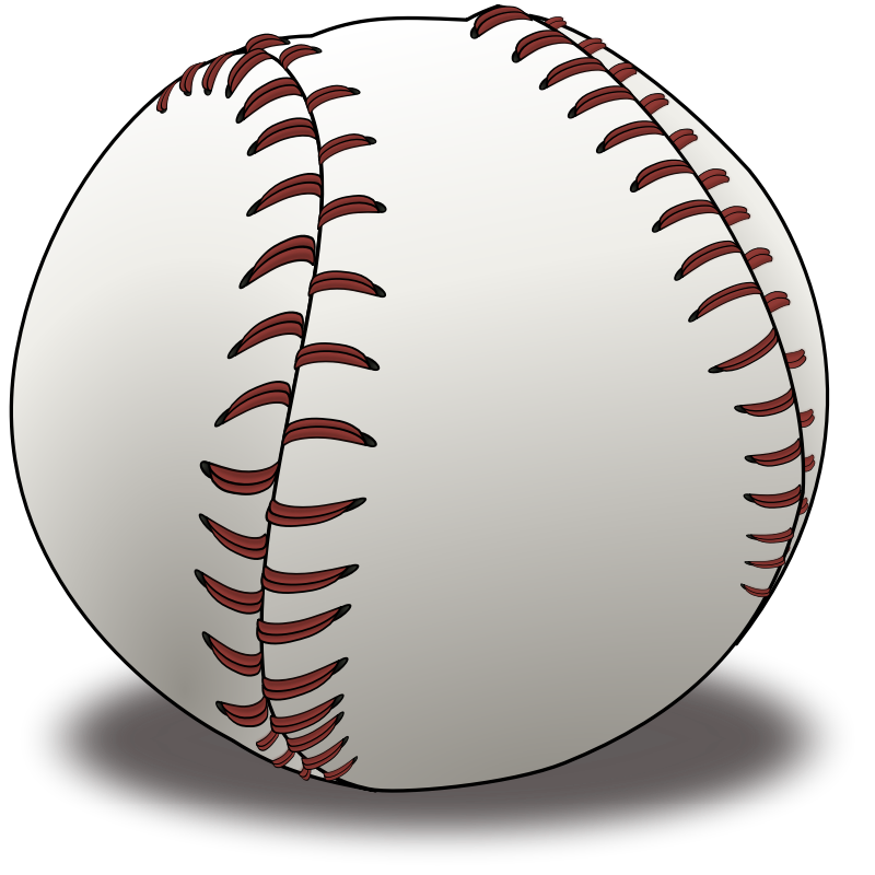 Baseball game clip art