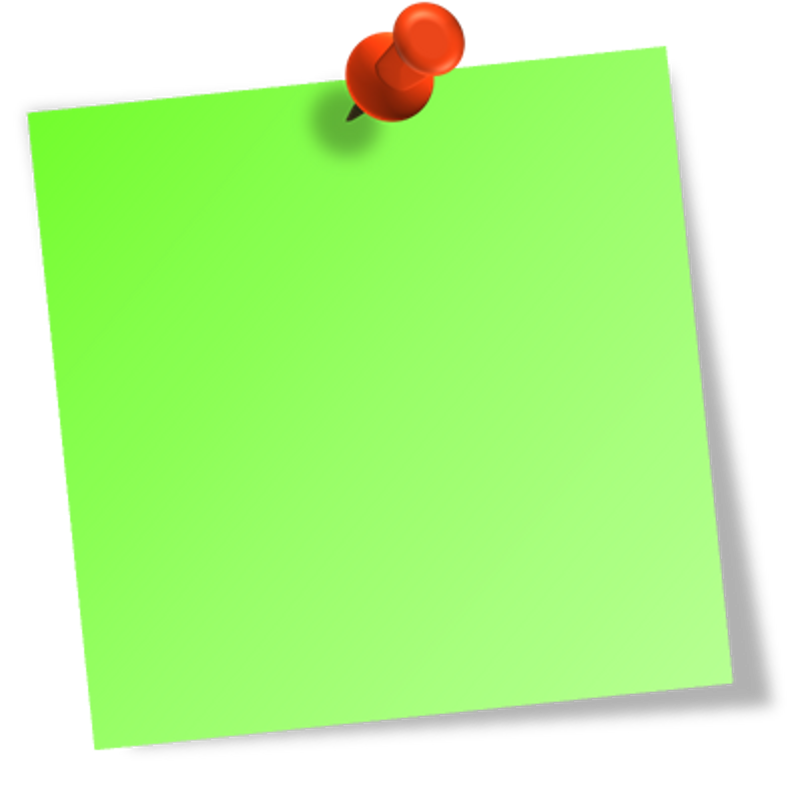 Post It Note Png