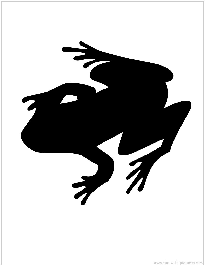 Frog Silhouette | Clipart Panda - Free Clipart Images