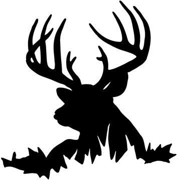 Pix For > Whitetail Buck Clipart