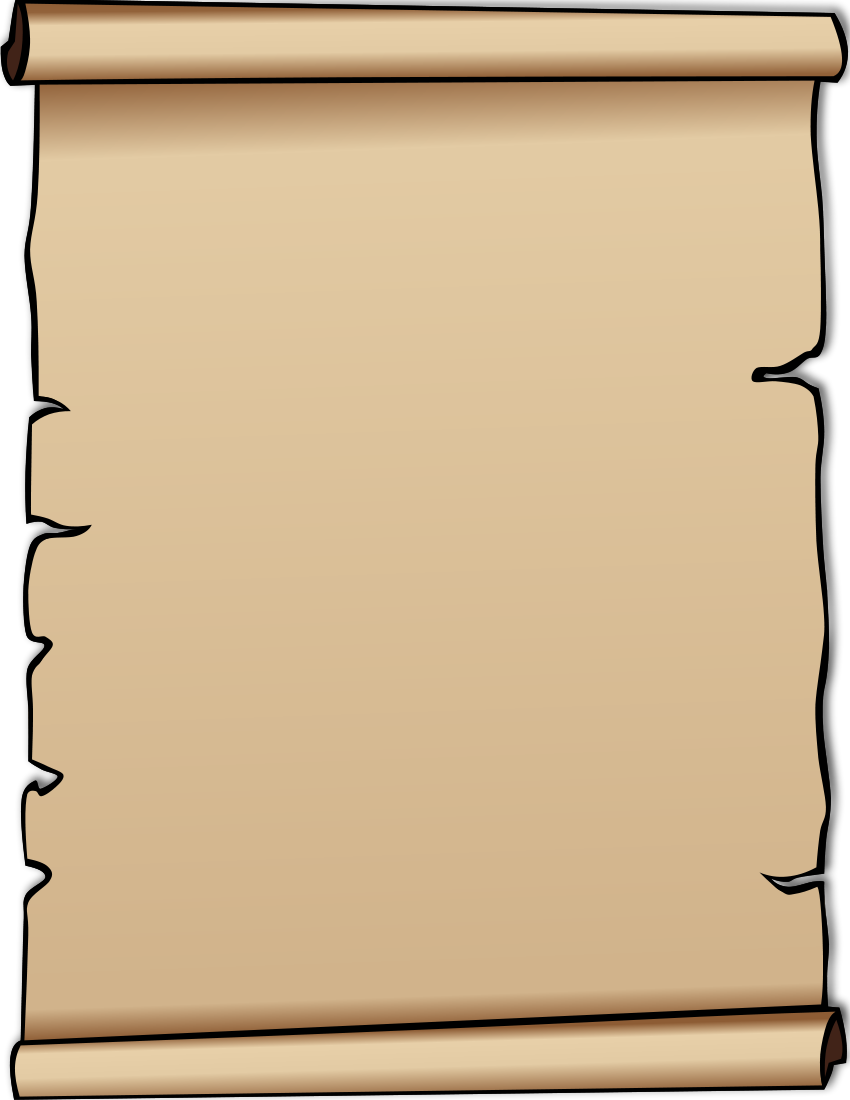 Blank Scroll Template - Cliparts.co