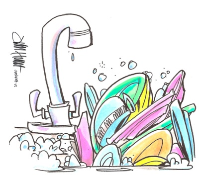 Dirty Kitchen Sink Cartoon Images & Pictures Becuo