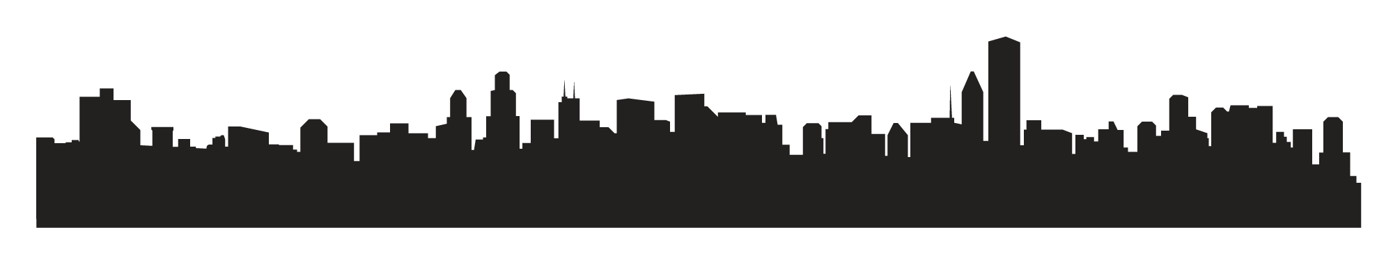 City Skyline Graphic - Cliparts.co