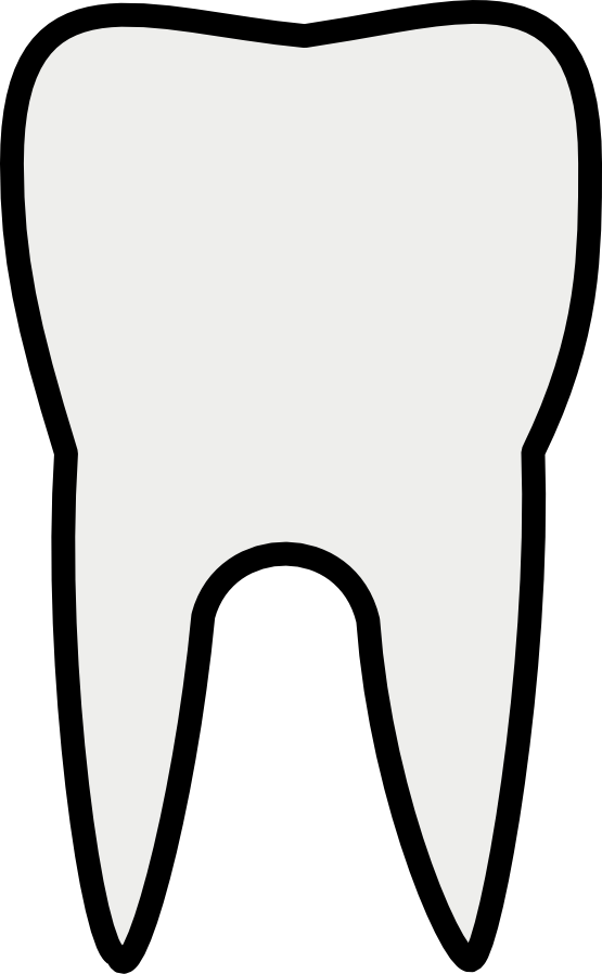 Teeth Clipart Black And White