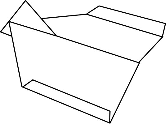 paper airplane clip art