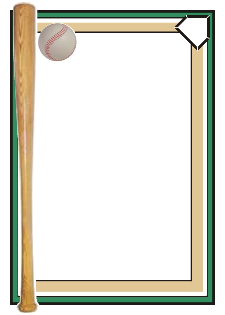 Baseball page border clipart best - Baseball Border Clip Art Cliparts Co