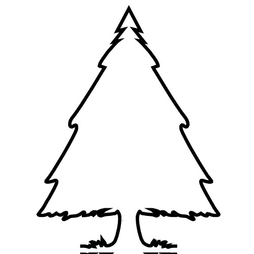 Picture Of Evergreen Tree - Cliparts.co