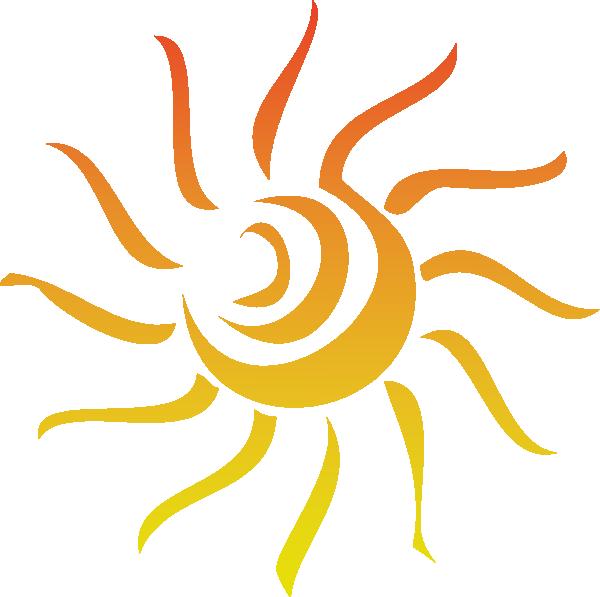 Sun Rays clip art - vector clip art online, royalty free & public ...
