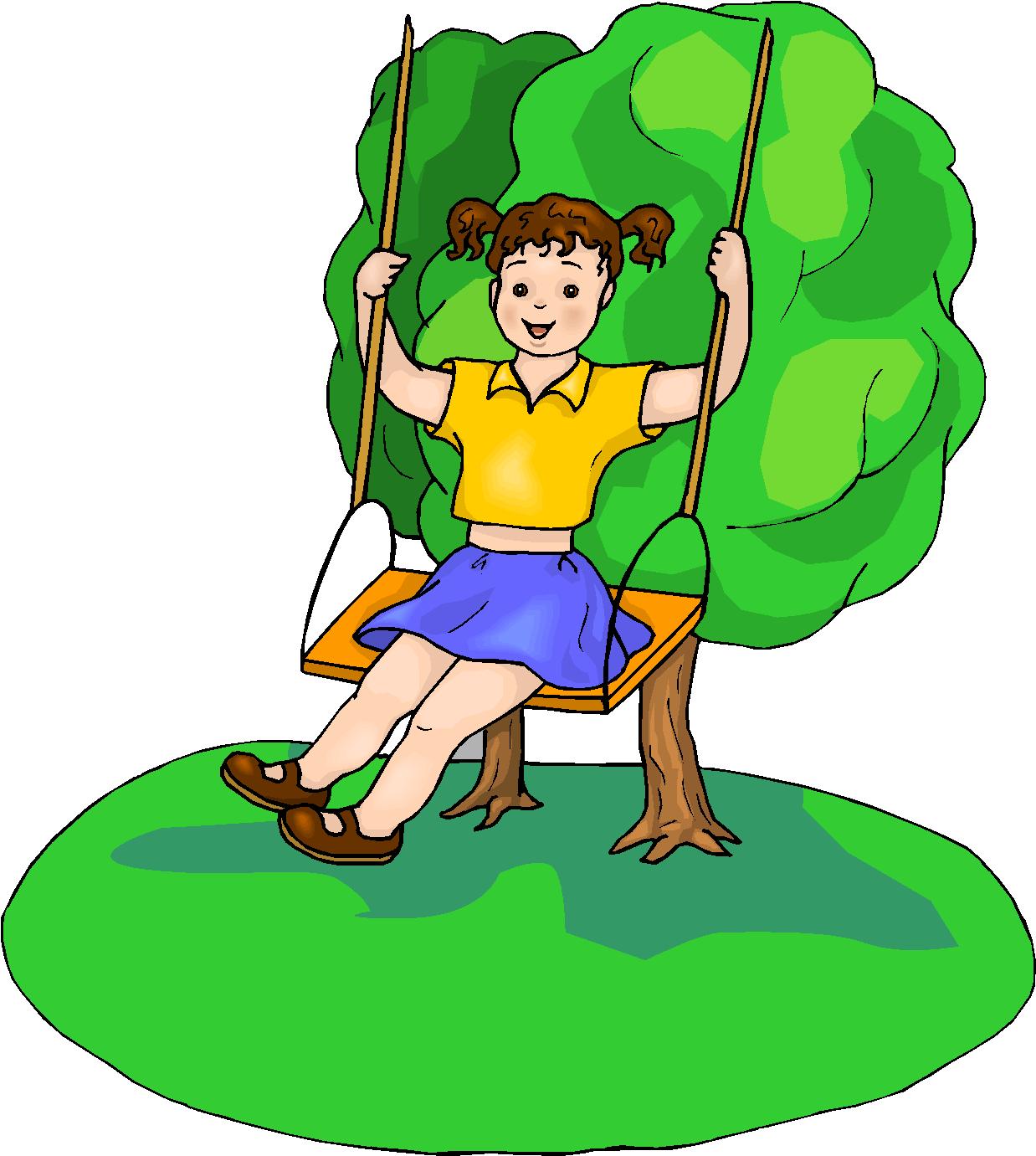 Animated Swinging Door : Girl clip art free cliparts