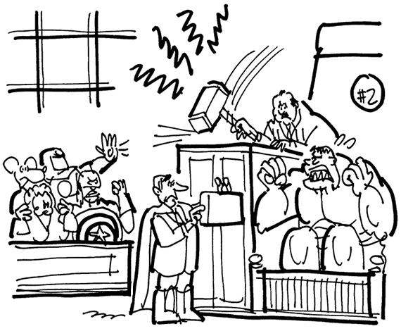 courtroom cartoon clipartsco