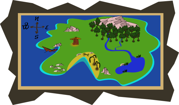 Treasure Map Pictures - Cliparts.co