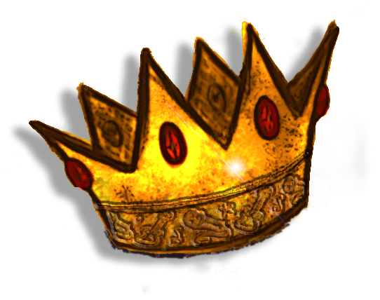 Crown Cartoon on King And Queen Clip Art