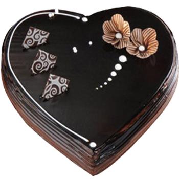 Happy Birthday Cake Love Shape