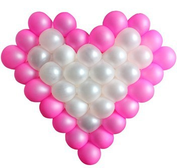 Aliexpress.com : Buy Free Shipping 2014 Popular party heart baloon ...
