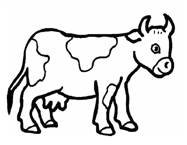 a4 size coloring pages of farm animals - photo #30