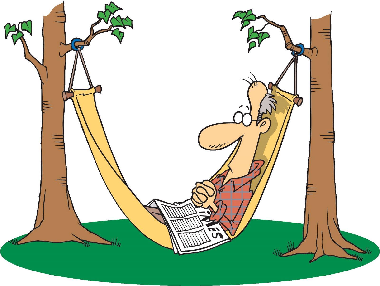 free clipart hammock cartoon - photo #25