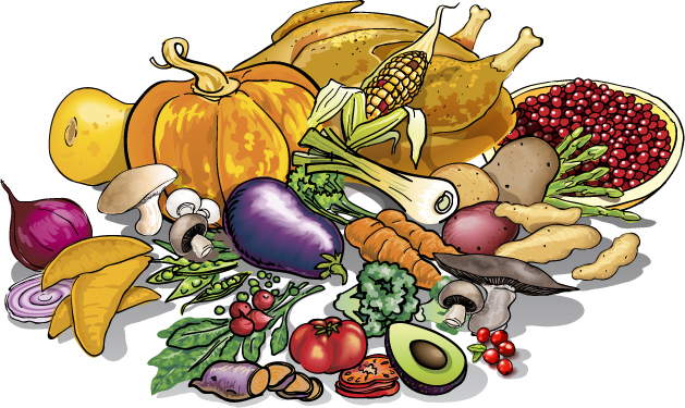 Thanksgiving Food Clipart Free