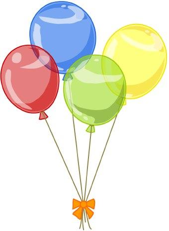 celebrity image gallery: happy birthday balloons clip art ...