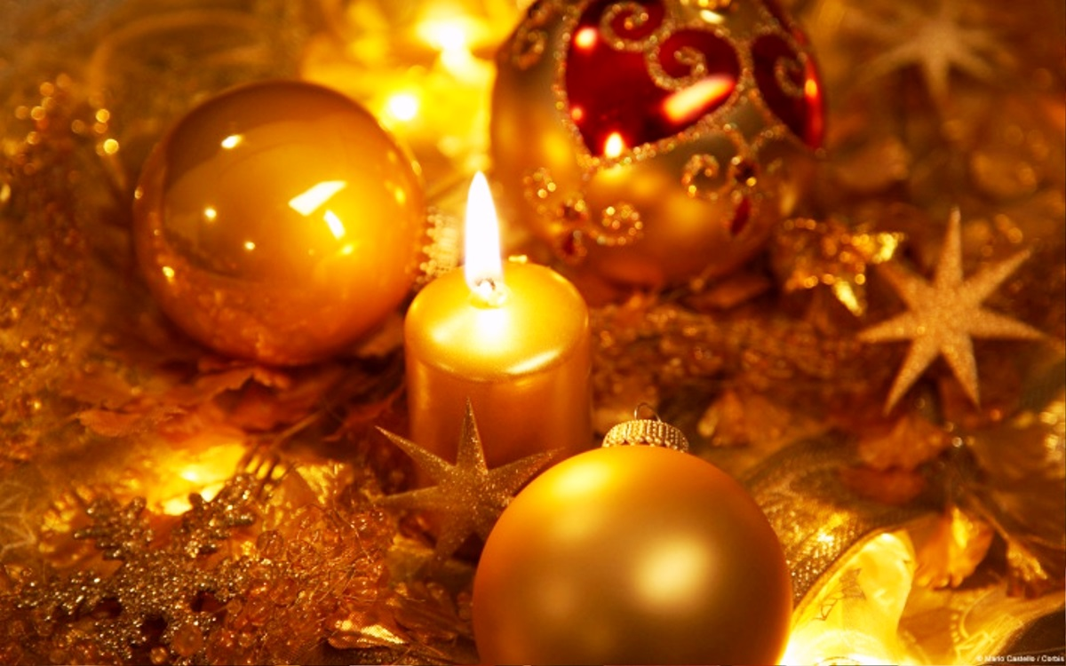 Christmas Candle Clipartsco