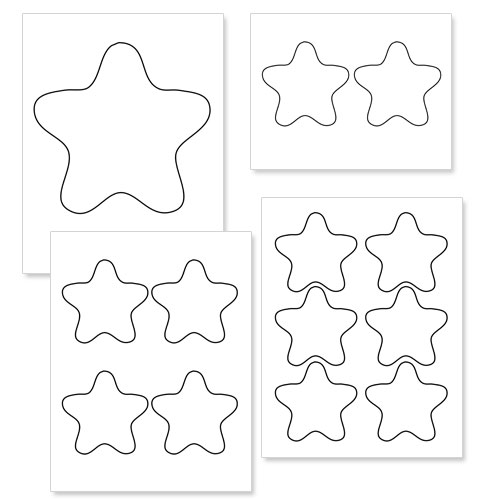 Printable Star Cliparts Co