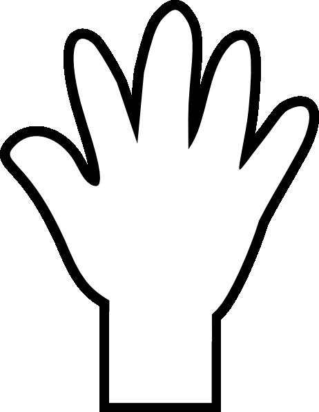 cartoon hand clip art cliparts co Handprint Clip Art Black and White Colorful Handprint Clip Art